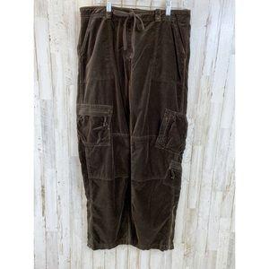 Sundance Velvet Cargo pants size 12